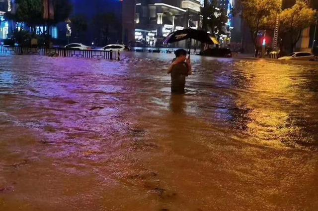 江西发布洪水橙色预警