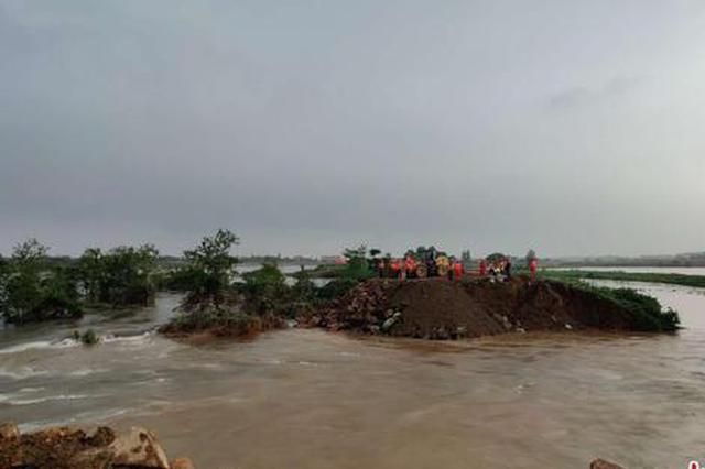洪涝致江西473.2万人受灾 鄱阳湖将发生流域性大洪水