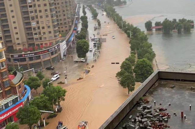 江西洪涝灾害致439.8万人受灾 紧急转移安置35.2万人