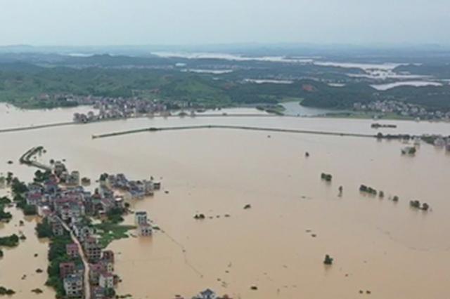 江西已有4个水文站水位突破1998年历史极值
