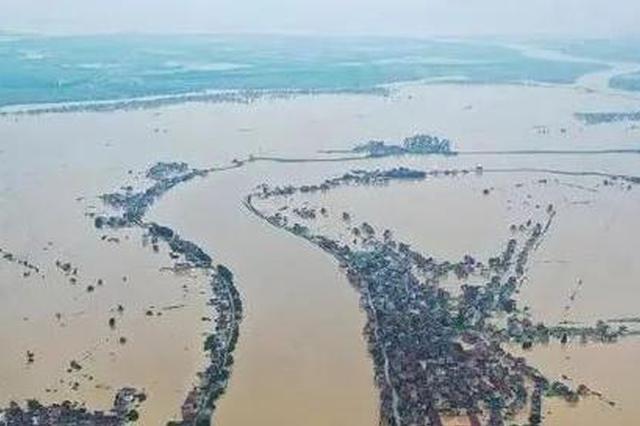 江西继续发布洪水红色预警 鄱阳湖水位超警戒3.60米