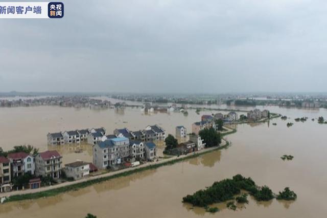 洪涝灾害致江西550.5万人受灾 直接经济损失81.3亿元