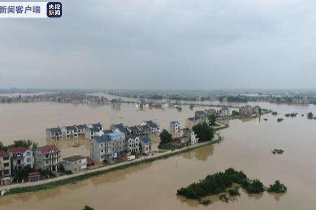 洪涝灾害致江西635.1万人受灾 直接经济损失112.9亿元