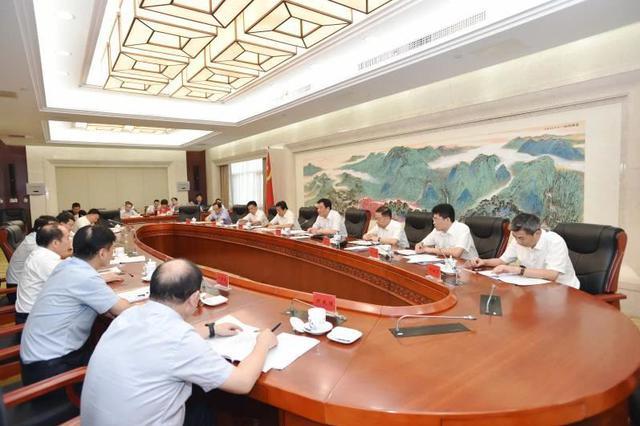 """刘奇听取省""""十四五""""规划部分重点领域总体思路汇报"""