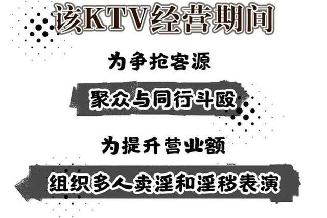 娱乐场所卖淫又组织淫秽表演 南昌一KTV老板获刑