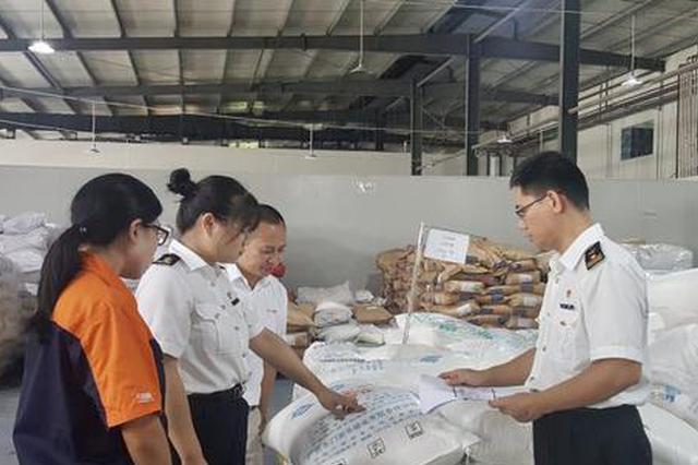 江西省蜜桃果汁浓浆首次出口越南