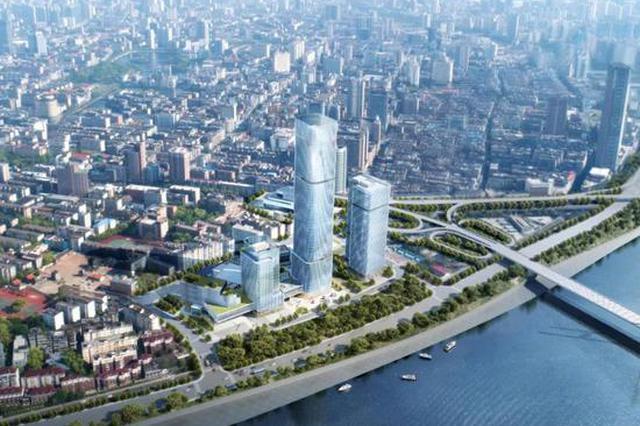 南昌八一桥头要有大动作 将建设220米超高层商业中心