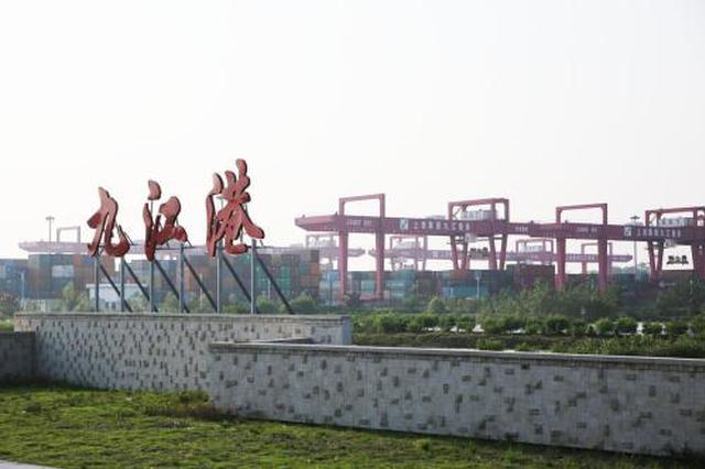 九江港城西港区集装箱吞吐量大增