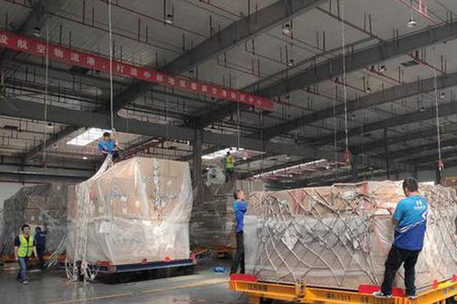 今年9月底南昌昌北国际机场货邮吞吐量超去年全年