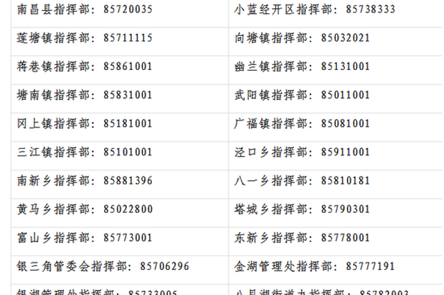 南昌县发布通告 做好境外输入性新冠肺炎疫情防控