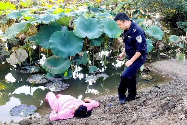 只因和婆婆吵了几句 江西一孕妇欲跳池塘轻生