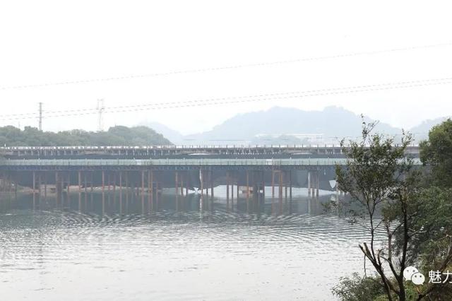 景德镇吕蒙大桥成功爆破拆除(组图)