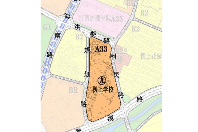南昌青云谱区将新建九年制楞上学校 位置就在…