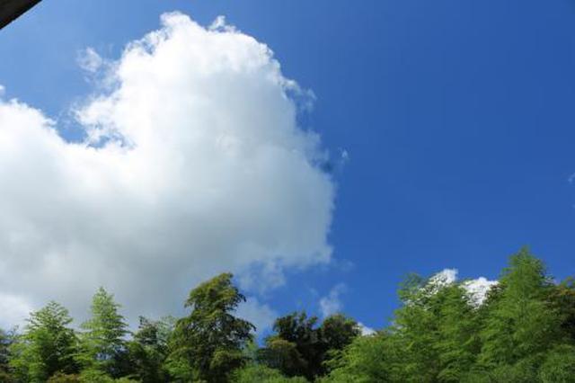 今年江西冬天在暖阳中开启 未来一周以晴天多云为主