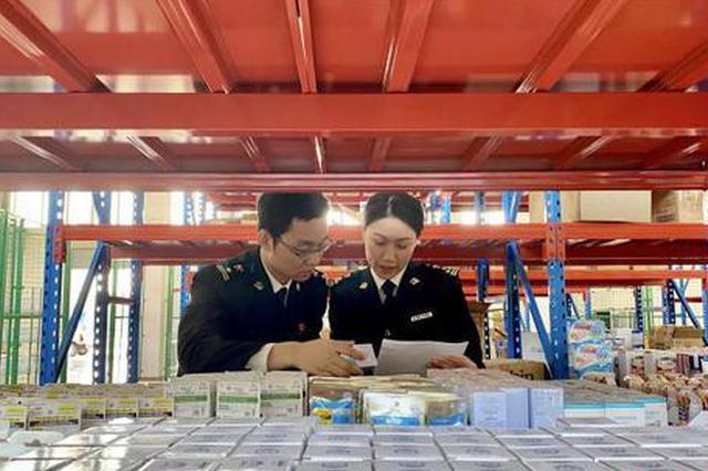 """""""双十一""""江西跨境电商火热 海关监管业务量暴涨百倍"""