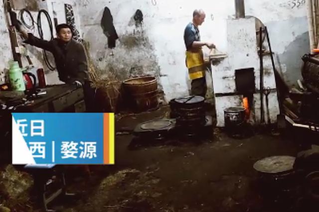 婺源榨油工:传统手艺没人学有点可惜