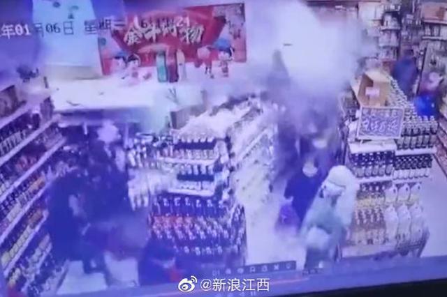 """南昌通报""""旺中旺超市墙体倒塌"""":2人受伤"""