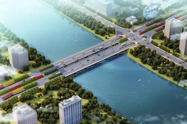 宜春袁河大桥主体工程完工 计划6月全面通车