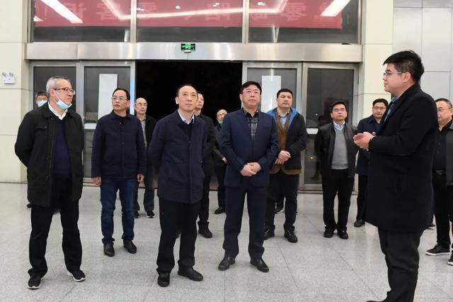 春节假期期间 于秀明率队赴安徽合肥国轩高科考察洽谈