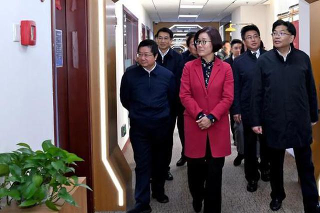 吴忠琼继续率队在沪考察招商洽谈合作