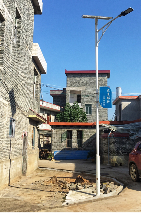 交通银行江西省分行:扶贫村里播撒交行蓝黄瓜藤上结下致富梦