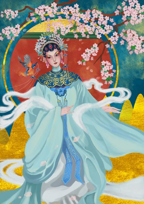 江西抚州的汤显祖是个戏剧服装设计师