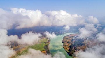 有山有水有云雾!江西武宁山川美景如画