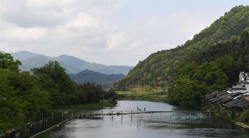 景德镇:春日雨后 山水如画