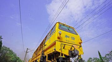 沪昆铁路江西区段开展线路集中整治