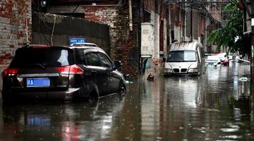 赣北遭受大暴雨袭击 62县降雨超百毫米