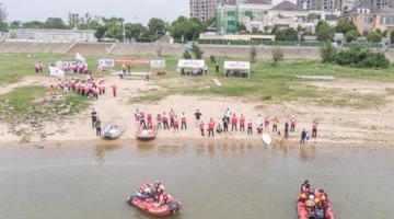 南昌开展水上应急救援演练活动