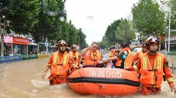 南昌消防营救疏散被困群众2000余人