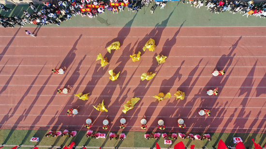 江西应用技术职业学院第十六届体育运动会隆重开幕