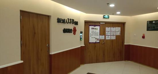 姚策在北京一医院进行安宁疗养。朱世晨 摄