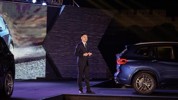 【高级培训讲师高斯洋先生,对全新BMW X3的产品亮点进行了精彩的讲解】