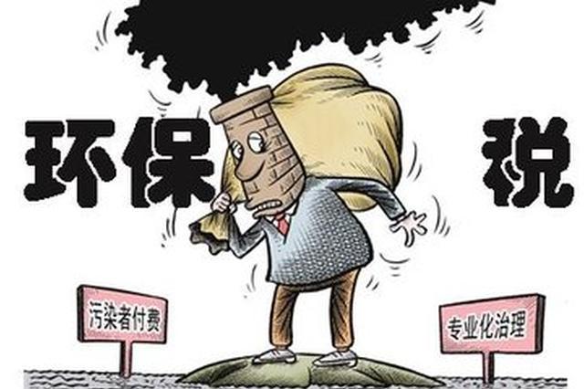 吉安本月开征环保税:按月计算、按季申报缴纳
