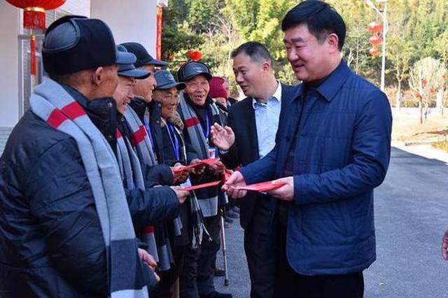 这里的老人很幸福 安远县委书记连续5年陪他们过年