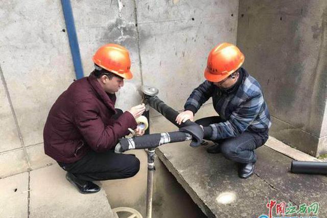 春节南昌总供水689万立方米 未现大面积停水事件