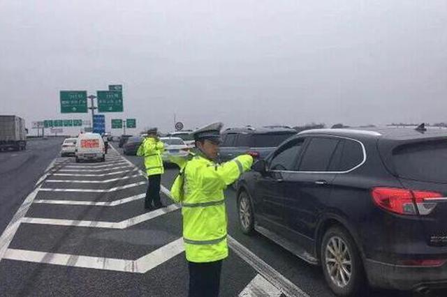 春节假期结束江西高速现出行高峰 交警发布出行提醒