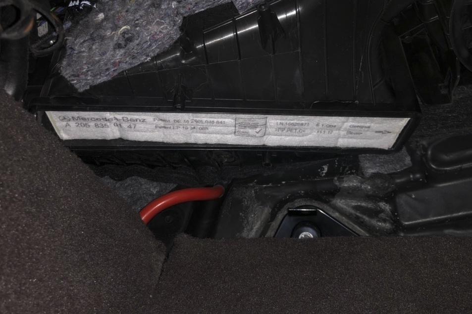内部空调滤芯
