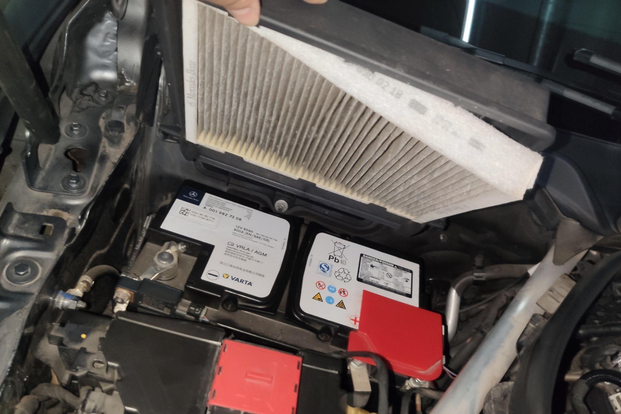 外部空调滤芯