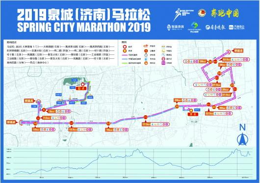 泉城马拉松路线图出炉 中国田径协会丈量确认