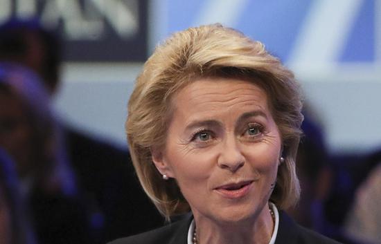 德国国防部长乌尔苏拉·冯德莱恩