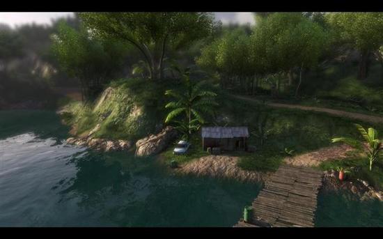 小岛景色还是很好看的