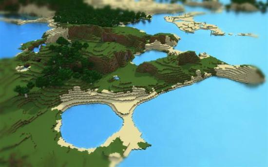 有能力还能建造属于你的海湾,想去度假了呢