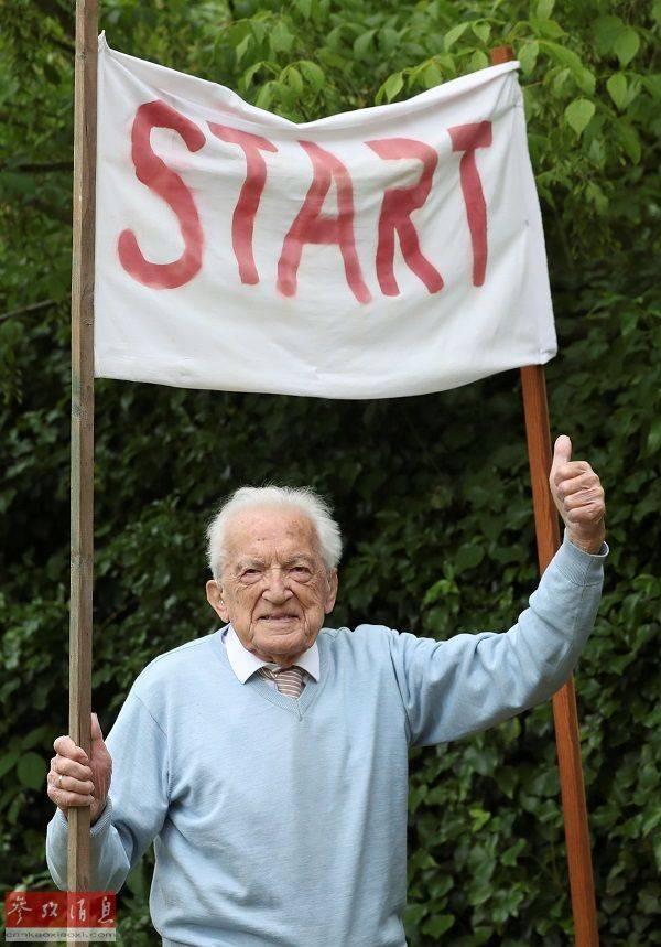 """百岁老人的""""抗疫马拉松"""" 患难见真情共同抗疫情"""