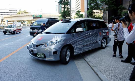 东京正式试运营自动驾驶出租车 体验自然单程车费13美元