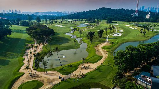 新加坡圣淘沙高尔夫俱乐部丹戎球场