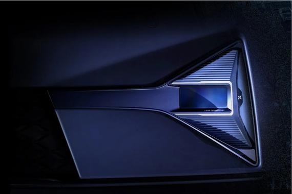 小鹏P5激光雷达曝光 144线密度 新车将于4月18日上海车展发布