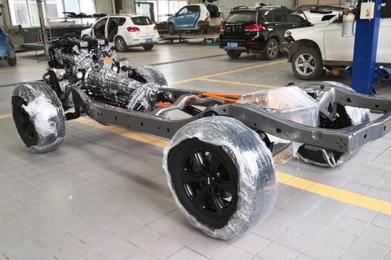 最大功率260kW 长城自研3.0T V6发动机与9AT变速箱